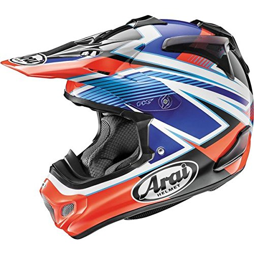 - Arai Tickle Adult VX-Pro 4 Off-Road Motorcycle Helmet - Red /X-Large