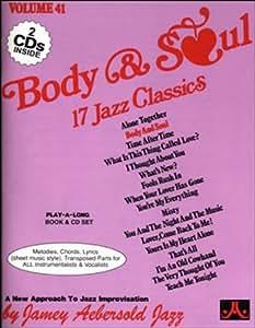 Vol. 41, Body & Soul: 17 Jazz Classics (Book & CD Set)