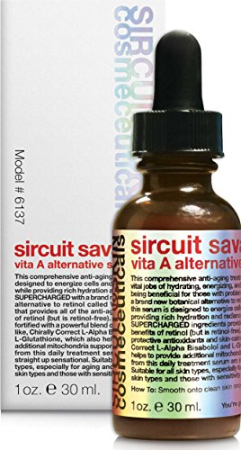 Sircuit Skin – SIRCUIT SAVANT Vita A Alternative Serum, 1 oz. For Sale