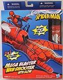 Marvel - 94591 - Spider-Man - Mega Blaster - Web Shooter mit Handschuh - verschiesst Web-Fluid und Wasser
