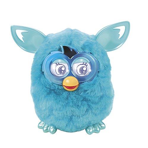 Furby Boom Plush Toy (Teal Pattern Edition) (Ferbie Toy)