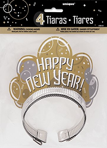 Bubbly New Years Tiaras, 4ct