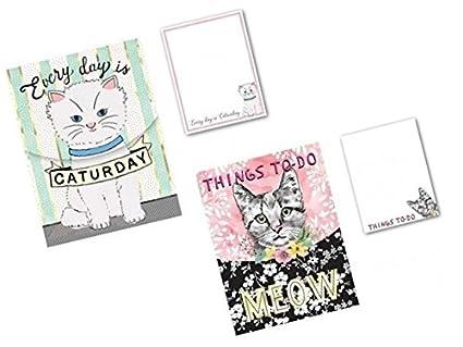 Smart gatos con cosas que hacer - Bolsillo blocs de notas por ...