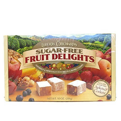 Liberty Orchards Sugar Free Fruit Delights 10 oz Box