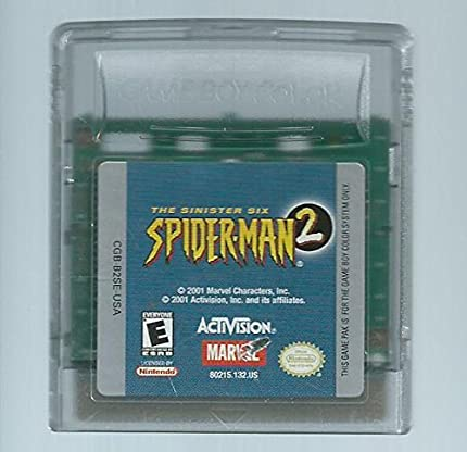 Spider Man 2: The Sinister Six by By          Activision