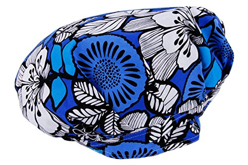 JoyRing Adjustable Surgical Scrub Cap Medical Doctor Bouffant Hats with Sweatband