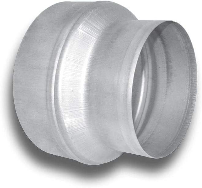 Conector reductor en espiral, sistema de reducción simétrico, 150 cm de diámetro, conector de 100 mm de diámetro: Amazon.es: Bricolaje y herramientas