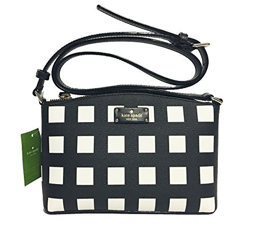 37f5dd6c2fe5 Galleon - Kate Spade New York Grove Street Millie Leather Shoulder Handbag  Purse (Popartcheck)