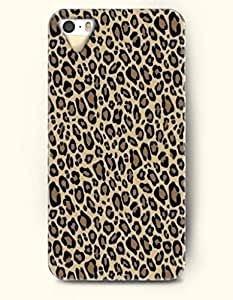 Phone Case For iPhone 5 5S Sexy Leopard Pattern - Hard Back Plastic Case / Animal Print / OOFIT Authentic