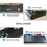 XFUNY Arcade Console Double Joystick Built-in 815 Classic Games King of Fighters/Street Fighter Plug and Play Pandora's Box for PC/Laptop / TV / PS3