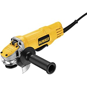 DEWALT DWE4120N 4 1/2-Inch Paddle Switch Angle Grinder with No Lock-On, Small