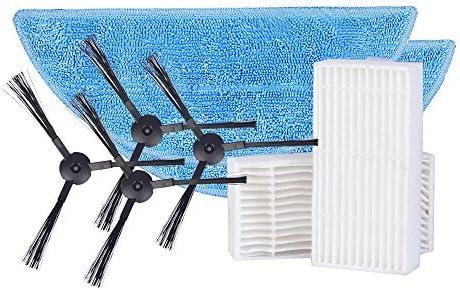 ILIFE Consumibles Accesorios Piezas Pack Lados Cepillo mop Filtro ...