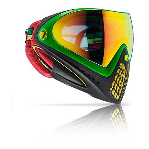 Dye i4 Paintball Goggles w/ Thermal Lens - Rasta