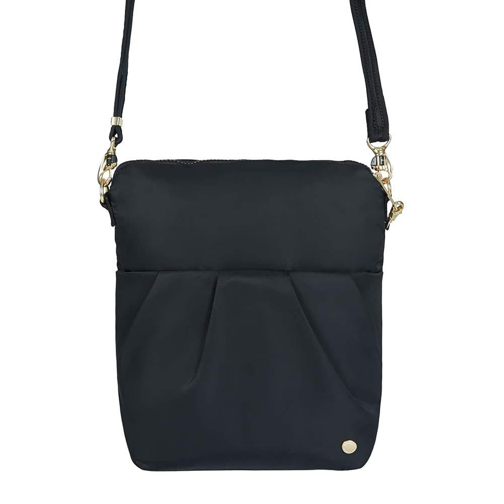 PacSafe Citysafe CX anti-theft convertible crossbody Messenger Bag, 28 cm, 5 liters, Black (Black 100)