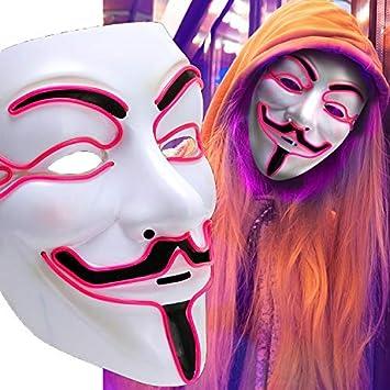 JimY máscara de Halloween para disfraz de Halloween, máscara de ...