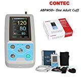 CONTEC Ambulatory Blood Pressure Monitor+Software 24h NIBP Holter(one Adult Cuff)