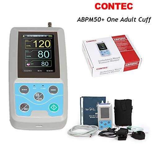 CONTEC Ambulatory Blood Pressure Monitor Software 24h NIBP Holter one Adult Cuff
