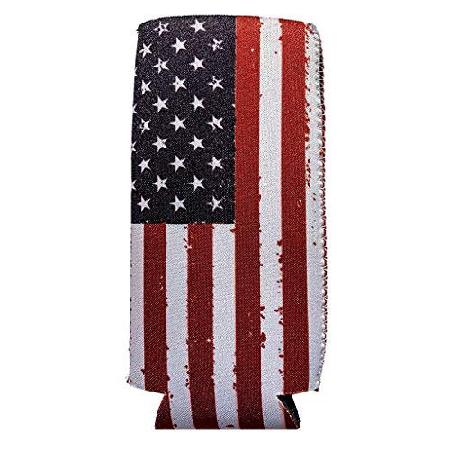 - RICH-Po 12oz Beer Bottle Cover Bags Decoration Home Party Banquet for Independence Day (A(2PC))