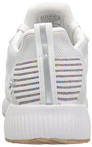 Skechers Bobs Womens Bobs Squad-metallic Fashion Sneaker White / Multi