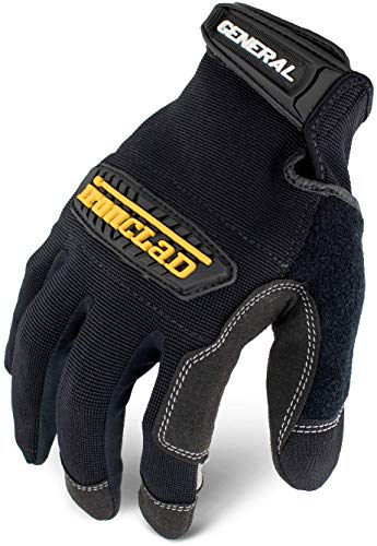 Ironclad General Utility Work Gloves GUG, All-Purpose, Performance Fit, Durable, Machine Washable, (1 Pair), Large - GUG-04-L