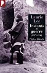 Instants de guerre 1937-1938 par Lee