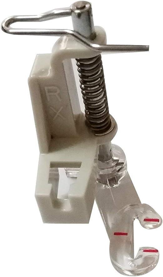 Cutex\u2122 Snap-On 9mm Open-Toe Applique Foot #820213096 For Pfaff F G J K Models