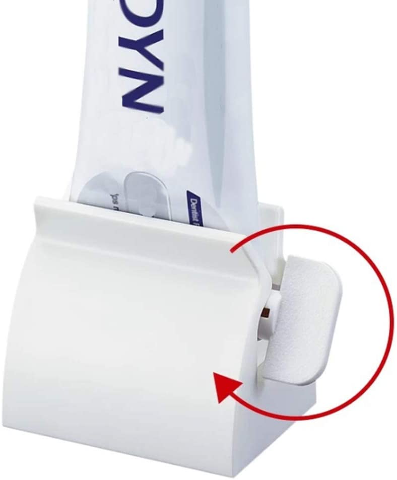 Toothpaste Squeezer Rolling Tube Squeeze Dispenser Holder Toothpaste-Seat Y9G4