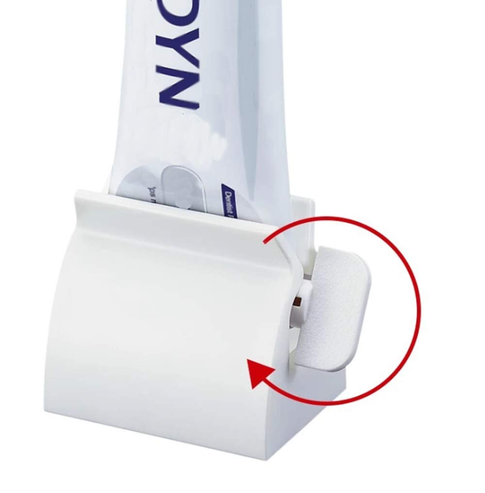SCStyle Rolling Tube Toothpaste Squeezer Toothpaste Seat Holder Stand