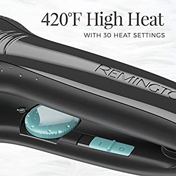 Remington 1 Wet2Straight Flat Iron with Ceramic Titanium Plates, S7330A
