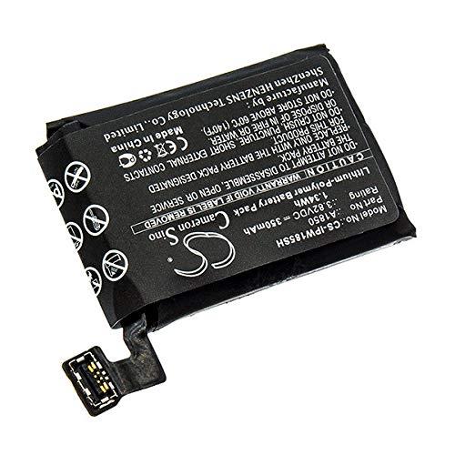 NX - Batería para smartwatch para Apple 3.82V 350mAh: Amazon.es ...