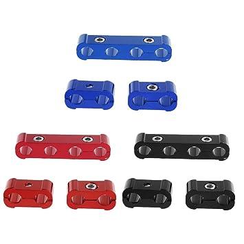 Kit de pinzas separadoras de cables para bujías de motor, para 8 mm, 9 mm, 10 mm rosso: Amazon.es: Hogar
