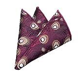 SFE-Men-bow ties Pocket Squares for Mens Squares Handkerchief Printing Patterns Pocket Wedding Party