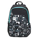 Wildcraft Wiki 1 Music Backpack Black (11947 Black)