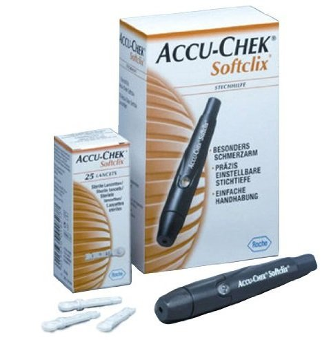 accuchek-softclix-lancing-pen-with-25-lancets