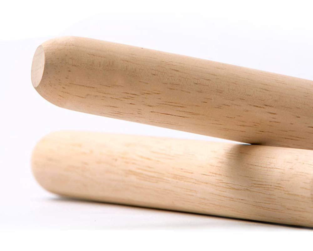 French Rolling Pin for Baking Pizza Dough Roller 30 x 3.5cm Wooden Rolling Pin