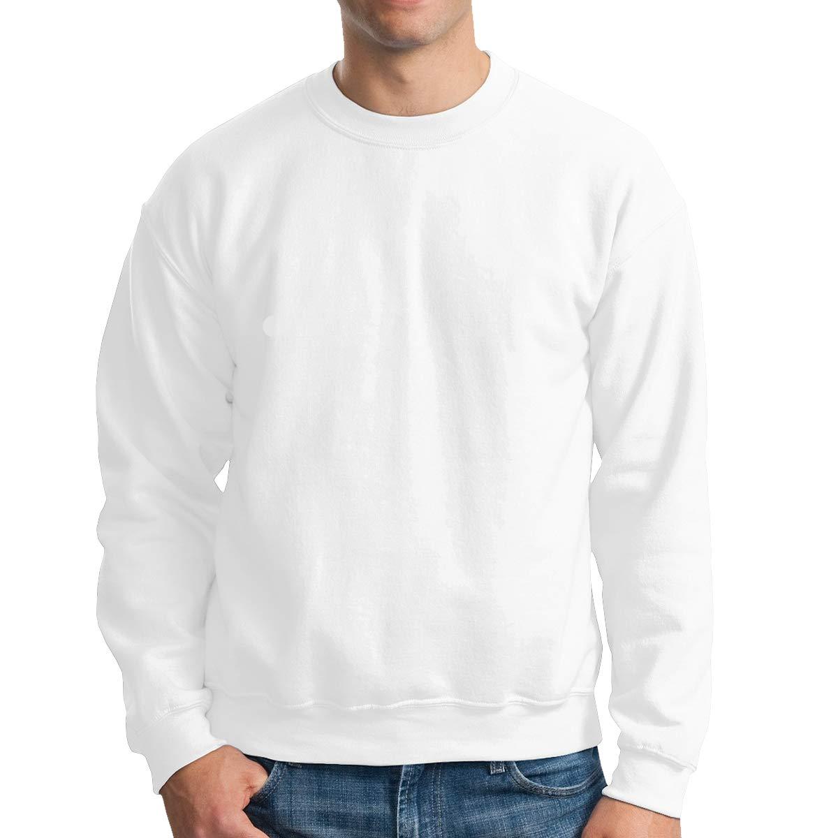 Donald Marjory Water Earth Air Fire Print Mens Powerblend Fleece Pullover Crewneck Sweatshirt