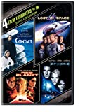 4 Film Favorites: Sci-Fi (4FF)Contact, Lost in Space (1998), Sphere and Red Planet  CONTACT INCLUDES: • 3 Commentaries: 1) Jodie Foster, 2) Robert Zemeckis and Steve Starkey, and 3) Ken Ralston and Stephen Rosenbaum • 4 Special Effects Featurettes • ...