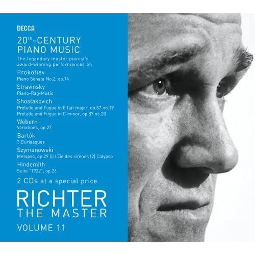 Richter The Master - 20th Century Piano Works (2 CDs)