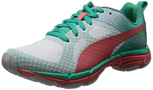 Puma Mobium Ride Wns Damen Laufschuhe Weiß (Blanc (White/Micro Chip/Pool Green))