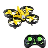 RC Helicopter With Camera - Mini RC Drone 2MP HD Camera Pocket Size UFO Quadcopter, Kingtoys 2.4G 4CH 6 Axis Gyro Headless Mode Remote Control Nano Helicopter
