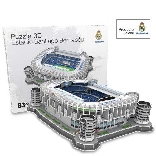 Livro Maquete 3D Estádio Real Madrid Bernabéu