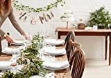Ginger Ray Wooden Heart Rustic Table Wedding Party