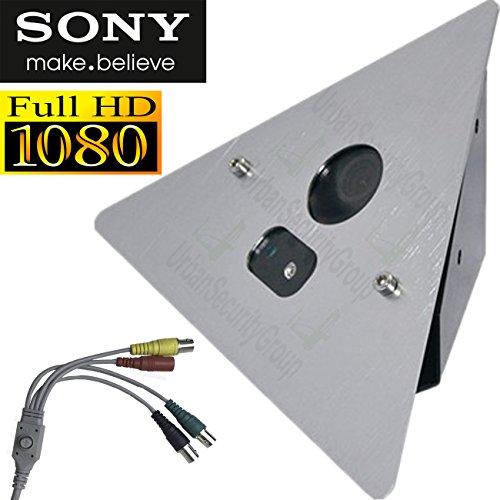 (USG HD Corner Elevator Security Camera : 2MP 1080P @ 30FPS : Aluminum METAL Housing : IR LED, 2.8mm Wide Angle Lens, PANASONIC Chip, WDR, Zoom : HD-SDI, EX-SDI, HD-TVI, HD-CVI, AHD, Analog CCTV Format)