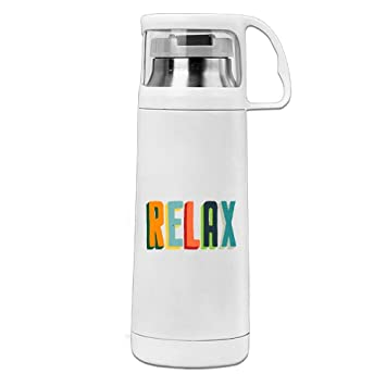 Vacío aislado botella de agua Relax revolucionario de cobre y aislado al vacío termo de acero inoxidable 14 oz por una vida larga vida: Amazon.es: Deportes ...