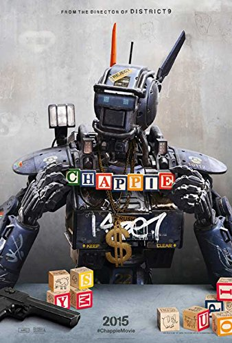 Amazon.com: Chappie Movie Poster 11 x 17 Style A (2015 ...