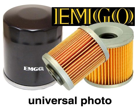 Emgo Oil Filter BLK for Kawasaki Bayou KL KLR KLX KZ200 for sale  Delivered anywhere in Canada