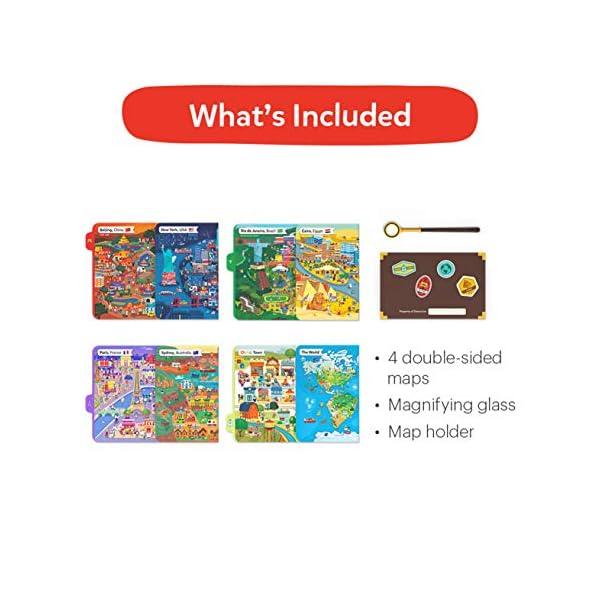 Osmo Search & Find Mystery Game-Ages 5-12-Explore The World-for And Detective Agency: Un Gioco Ricerca misterioso-età 5-12-Esplora Il Mondo-per iPad e Tablet Fire Base Richiesta, Colore 2, 902-00011 6 spesavip