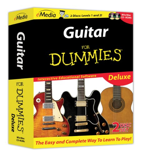 eMedia Guitar Dummies Deluxe set