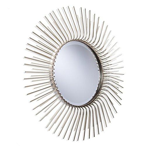 Southern Enterprises Trevella Wall Mirror, Champagne Gold