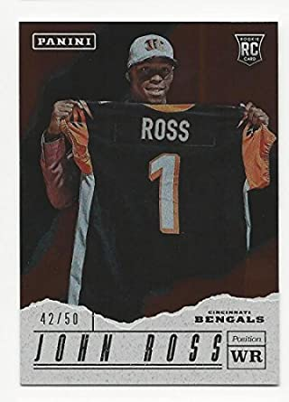 5b91351d Amazon.com: 2017 Panini Father's Day John Ross #47 NM Near Mint RC ...